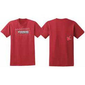 京商 KYOSHO K フェード 2.0 Tシャツ (レッド/ L)(88002L) 返品種別B|joshin