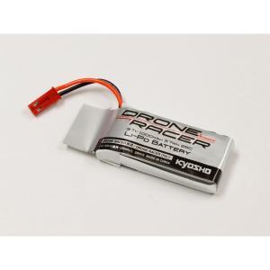 京商 3.7V-1000mAh Li-Poバッテリー(DroneRacer専用)(DR013)ラジコンパーツ 返品種別B|joshin