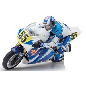 京商 1/ 8 電動バイク ハングオンレーサー シリーズ S.R.T SUZUKI RGV-Γ 1992 組立キット(34931)ラジコン 返品種別B
