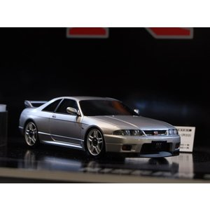 京商 オートスケールコレクション MA-020S スカイライン GT-R R33 Vスペック シルバー(MZP438S)ラジコン 返品種別B|joshin
