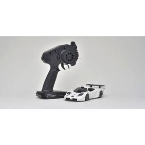 京商 1/ 27 電動RC ミニッツRWDレディセット マクラーレンF1 GTR ホワイト(32332W)ラジコン用 返品種別B|joshin