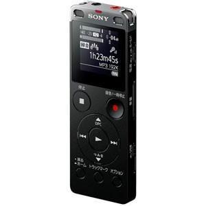 ソニー リニアPCM対応ICレコーダー4GBメモリ内蔵+外部マイクロSDスロット搭載(ブラック) SONY ICD-UX560FBC 返品種別A