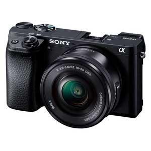 ソニー ミラーレス一眼カメラ「α6300」パワーズームレンズキット SONY ILCE-6300L 返品種別A joshin