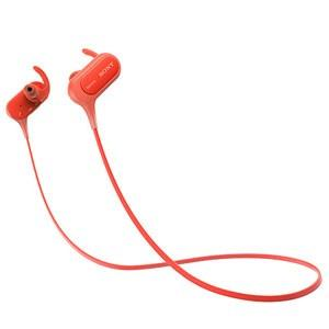 ソニー Bluetooth搭載ダイナミック密閉型カナルイヤホン(レッド) SONY MDR-XB50BSR 返品種別A|joshin