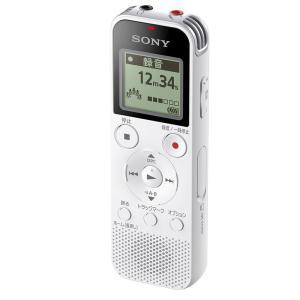 ソニー リニアPCM対応ICレコーダー4GB内蔵+外部マイクロSDカードスロット搭載(ホワイト) SONY ICD-PX470F W 返品種別A|joshin