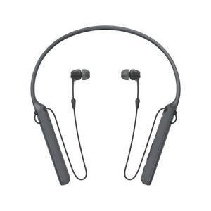 ソニー Bluetooth対応ダイナミック密閉型カナルイヤホン(ブラック) SONY WI-C400 B 返品種別A|joshin