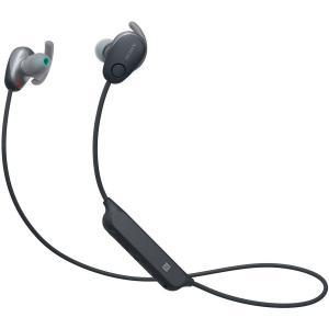 ソニー ノイズキャンセリング機能搭載Bluetooth対応ダイナミック密閉型カナルイヤホン(ブラック) SONY SPシリーズ WI-SP600N B 返品種別A joshin