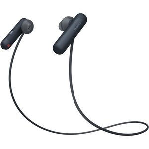 ソニー Bluetooth対応ダイナミックオープン型カナルイヤホン(ブラック) SONY SPシリーズ WI-SP500 B 返品種別A|joshin