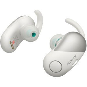 ソニー ノイズキャンセリング機能搭載完全ワイヤレス Bluetoothイヤホン(ホワイト) SONY SPシリーズ WF-SP700N W 返品種別A|joshin