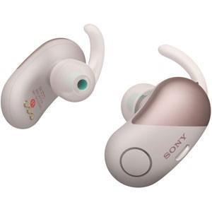 ソニー ノイズキャンセリング機能搭載完全ワイヤレス Bluetoothイヤホン(ピンク) SONY SPシリーズ WF-SP700N P 返品種別A|joshin