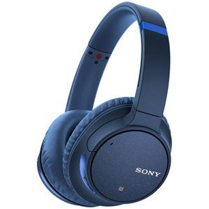 ソニー Bluetooth対応ワイヤレスノイズキャンセリングヘッドホン(ブルー) SONY WH-C...