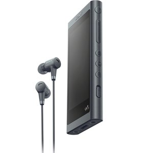 ソニー ウォークマン A50シリーズ 32GB ヘッドホン同梱モデル(グレイッシュブラック) SONY Walkman NW-A56HN/ B 返品種別A joshin
