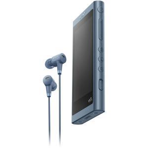 ソニー ウォークマン A50シリーズ 16GB ヘッドホン同梱モデル(ムーンリットブルー) SONY Walkman NW-A55HN/ L 返品種別A joshin