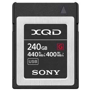 ソニー XQDメモリーカード 240GB SONY Gシリーズ QD-G240F 返品種別A|joshin