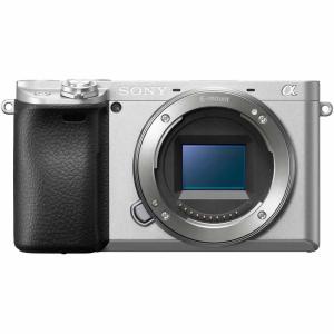 ソニー ミラーレス一眼カメラ「α6400」ボディ(シルバー) SONY ILCE-6400-S 返品種別A|joshin