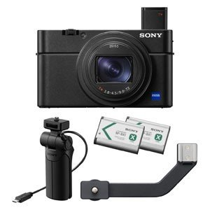 ソニー デジタルカメラ「Cyber-shot RX100M7G」(シューティンググリップキット) D...
