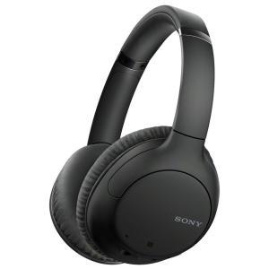ソニー ノイズキャンセリング機能搭載Bluetooth対応ダイナミック密閉型ヘッドホン(ブラック) ...