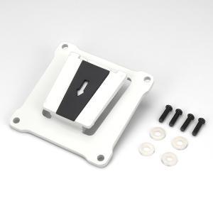 センチュリー センチュリー製モニターアームVESA75mm専用プレート(ホワイト) CGMA-OP2WH 返品種別A|Joshin web