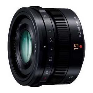 パナソニック LEICA DG SUMMILUX 15mm /  F1.7 ASPH.(ブラック) ...