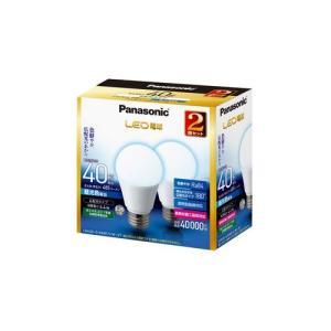 パナソニック LED電球 一般電球形 485lm(昼光色相当)(2個セット) Panasonic LDA4D-G/ K40E/ S/ W/ 2T 返品種別A joshin