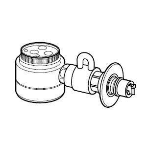 パナソニック 食器洗い乾燥機用分岐栓 Panasonic CB-SEF8 返品種別A