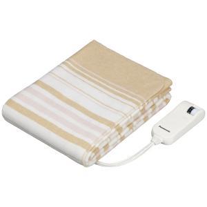 パナソニック 電気毛布(敷タイプ・140×80cm ベージュ) (暖房器具)Panasonic DB-U12T-C 返品種別A|joshin