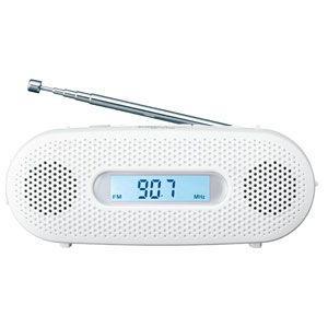 在庫状況:在庫僅少/◆乾電池がなくても手回し充電対応のライトラジオ◆電源:手回し充電、単4形乾電池×...