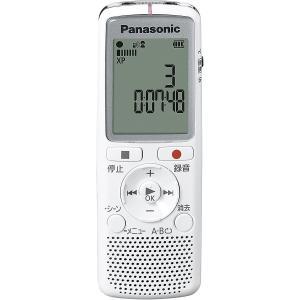 パナソニック ICレコーダー2GBメモリ内蔵 Panasonic RR-QR220-W 返品種別A|joshin