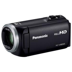 パナソニック デジタルハイビジョンビデオカメラ「HC-V480MS」(ブラック) HC-V480MS-K 返品種別A