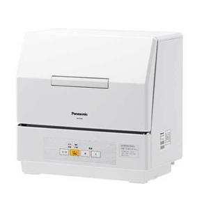 パナソニック 食器洗い乾燥機(ホワイト) (食洗機)(食器洗い機) Panasonic プチ食洗 N...