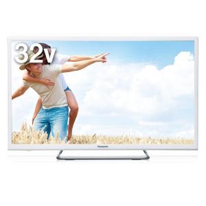 パナソニック 32V型デジタルハイビジョンLED液晶テレビ(ホワイト) (別売USB HDD録画対応)VIERA TH-32ES500-W 返品種別A joshin