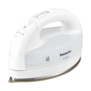 パナソニック コードレススチームアイロン(ホワイト) Panasonic カルル NI-WL504-W 返品種別A