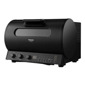 パナソニック ロティサリーグリル&スモーク ブラック Panasonic NB-RDX100-K 返品種別A|joshin