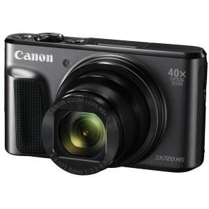 キヤノン デジタルカメラ「PowerShot SX720 HS」(ブラック) PSSX720HS(BK) 返品種別A|joshin