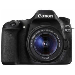 キヤノン デジタル一眼レフカメラ「EOS 80D」EF-S18-55 IS STMレンズキット EOS80D1855ISSTMLK 返品種別A|joshin