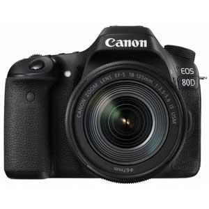 キヤノン デジタル一眼レフカメラ「EOS 80D」EF-S18-135 IS USMレンズキット EOS80D18135ISUSMLK 返品種別A|joshin