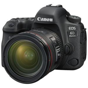 キヤノン デジタル一眼レフカメラ「EOS 6D Mark II」24-70 F4L IS USM レンズキット EOS6DMK2-2470ISLK 返品種別A|joshin