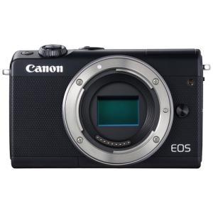 キヤノン ミラーレスカメラ「EOS M100」ボディ(ブラック) EOSM100BK-BODY 返品種別A|joshin