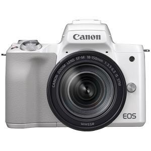 キヤノン ミラーレス一眼カメラ「EOS Kiss M」EF-M18-150 IS STM レンズキッ...