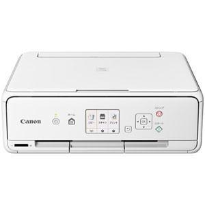 キヤノン A4対応 インクジェットプリンター(ホワイト) Canon PIXUS(ピクサス) TS5030S PIXUSTS5030SWH 返品種別A|joshin
