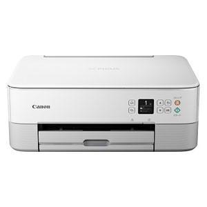 キヤノン A4プリント対応 インクジェットプリンタ複合機(ホワイト) Canon PIXUSTS53...