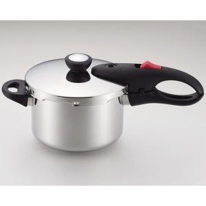 パール金属 (IH対応)圧力鍋 軽量単層 NEO 片手圧力鍋 3.0L HB-1734 返品種別A