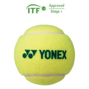 ヨネックス テニスボール マッスルパワーボール40(1ダース12個入り) ジュニア専用 ステージ1 ドットグリーン YONEX TMP40 769 返品種別A joshin