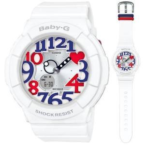 カシオ (国内正規品)BABY-G White Tricolor Seriesデジアナ時計 レディースタイプ BGA-130TR-7BJF 返品種別A|joshin