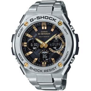 カシオ G-SHOCK G-STEELGショック ソーラー電波時計 メンズタイプ GST-W110D-1A9JF 返品種別A|joshin