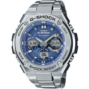 カシオ G-SHOCK G-STEELGショック ソーラー電波時計 メンズタイプ GST-W110D-2AJF 返品種別A|joshin