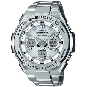 カシオ G-SHOCK G-STEELGショック ソーラー電波時計 メンズタイプ GST-W110D-7AJF 返品種別A|joshin