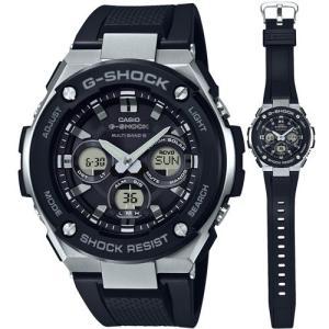 カシオ (国内正規品)G-SHOCK G-STEELGショック ソーラー電波時計 メンズタイプ GST-W300-1AJF 返品種別A|joshin
