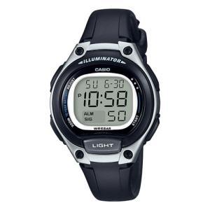 カシオ スタンダードデジタル時計 レディースタイプ LW-203-1AJF 返品種別A|joshin