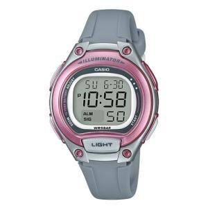 カシオ スタンダードデジタル時計 レディースタイプ LW-203-8AJF 返品種別A|joshin